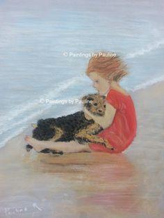 Pastel painting art