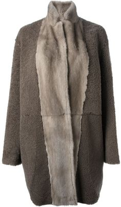 shearling coat - Google Search