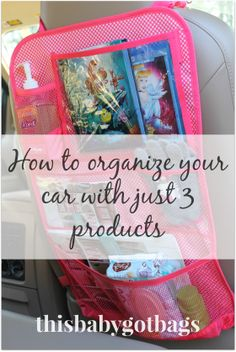 Messy car? WIth Thirty One it's no problem! http://thisbabygotbags.blogspot.com/ https://www.facebook.com/thisbabygotbags?ref=hl #thirtyone, #organization, #sahm