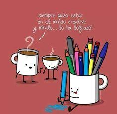 Siempre quiso estar en el mundo creativo y míralo... ¡lo ha logrado! Creatividad.