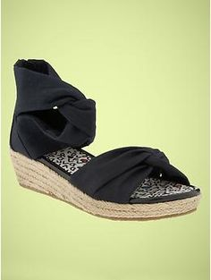 DVF for gap kids espadrilles-they actually make up to a size 6 but they're all sold out already!