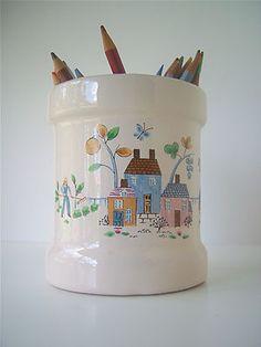 Look what I found on @eBay! Vintage Ceramic Utensil Holder, Heartland Village  http://r.ebay.com/u8PMRz