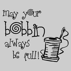 Full bobbins rock!
