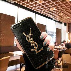 イブサンローラン iPhoneXケース キラキラ 人気 YSL パロディiPhone7plus/iPhone6sカバー