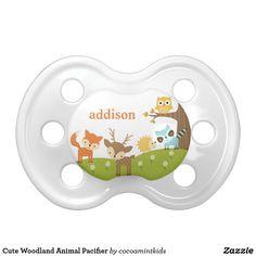 Cute Woodland Animal Pacifier
