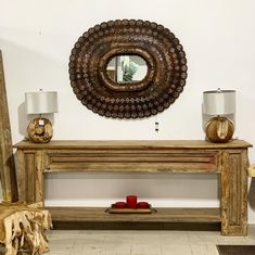 Rustic Mirrors, Wood Mirror, Diy Mirror, Diy Wall Decor For Bedroom, Room Decor, Peacock Mirror, North Carolina Homes, Mirror Painting, Home Accents