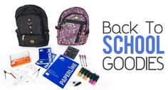We have a GREAT back to school offer for your children! With prices starting from only AED 99, get useful stationery materials along with an awesome school bag!