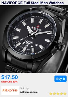 bcdb94e81c6 NAVIFORCE Full Steel Men Watches Top Brand Luxury Men Quartz Waterproof  Watch Men Sports Watch Popular Watches relogio masculino-in Quartz Watches  from ...