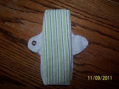 Homemade cloth menstrual pads