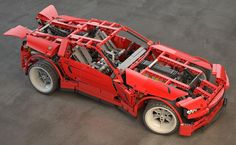 Project by Marcos Albuquerque Be.net/marcosalbuquerque #staffpick #behance #illustration #modeling #lego #car #design