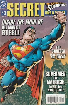 Superman: Secret Files # 2 DC Comics