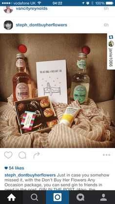 Gin And Tonic, Just In Case, Presents, Packaging, Canning, Flowers, Ideas, Gifts, Favors