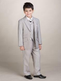 Boys beige suit - Joey