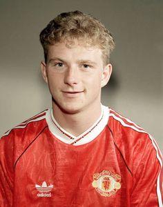 f5ceabd4ac4 Mark Robins of Man Utd in 1990. Man Utd Crest, Premier League Champions,