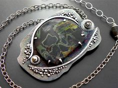 RESERVED Strength In You Sterling Necklace Handmade Jewelry Wild Prairie Silver on Etsy, Sold