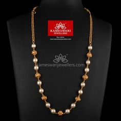 Jewelry Tips And Tricks: A Guide To Accessorizing Pearl Necklace Designs, Gold Earrings Designs, Pearl Jewelry, Indian Jewelry, Gold Necklace, Pendant Jewelry, Gold Chain Design, Gold Jewellery Design, Gold Jewelry Simple