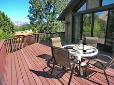 Juniper- Lovely 2 bedroom, 2 baths in West Sedona with view and hot tub. http://www.redrockrealty.net/j.html