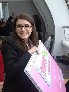 Natalie Pasquel, who works in our Lorton, Va., store, recently won first place in a national DECA conference with a sweetFrog franchise model!