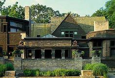 Frank Lloyd Wright Home  Studio, Oak Park, IL. - remember visiting this like it was yesterday.