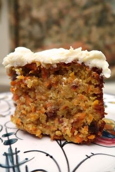"""Not all carrot cakes are created equal, especially where Nigella is concerned. This recipe, """"originating from Venetian Jews, which s. Gluten Free Carrot Cake, Gluten Free Sweets, Gluten Free Cakes, Gluten Free Baking, Gluten Free Recipes, Baking Recipes, Cake Recipes, Carrot Cakes, Carrot Cake Loaf"""
