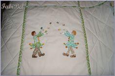 baby gift crib bedding machine embroidery circus