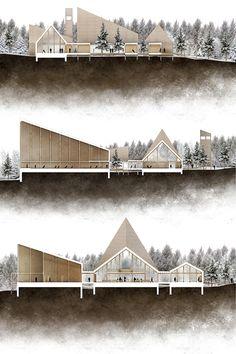 Hatlehol Church on Behance