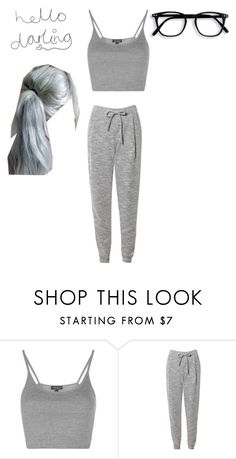 """""""I don't want to get out of bed"""" by magicmoth ❤ liked on Polyvore featuring Topshop and Related"""