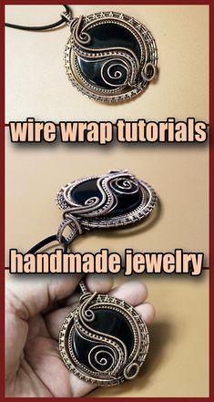 DIY, Wire wrap tutorials, Wire wrap, wire wrapped, Wire jewelry, handmade, craft, wire work, Handmade jewelry, Wire wrapped jewelry, wire wrapping, metal work, jewelry, wire wrapped pendant, wire necklace, wire weaving, wire work, copper wire jewelry
