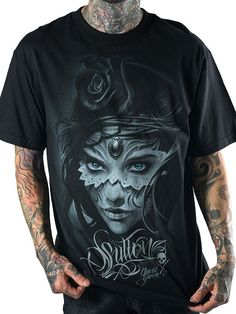 """Men's """"Athena"""" Tee by Sullen Clothing (Black) #Inkedshop #sullen #sullenclothing #athena #mensclothing"""