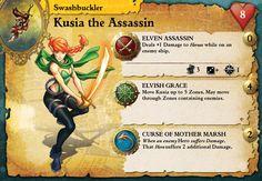Skullkickers Minis Now Part of the Rum & Bones Kickstarter! Game Cards, Card Games, Elvish, Rum, Bones, Baseball Cards, Mini, Room, Playing Card