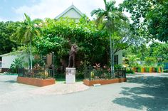 Visit the Bob Marley Museum, in Kingston, the former home turned museum of reggae legend Bob Marley