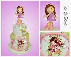 Lalla's Cake - sugar art & cake design: Little Rose Cake: modelling, pittura e ostia su pa...
