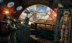 #ship #art #gameart #shipinterior #shipdeck #gaming #gamedev #gamedevelopmentart #game
