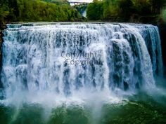 Shopportunity Etsy Team Blog: Waterfalls @ Letchworth State Park In Castile, NY ...