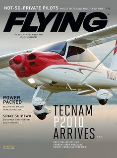 Flying Magazine November 2015 | Tecnam P2010