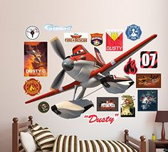 Fathead DustyDisney Planes Fire and Rescue Real Big Wall Decal ** For more information, visit image link.