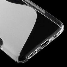 Huawei Y6 läpinäkyvä silikonisuojus.