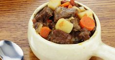 Need an easy, healthy weeknight meal? Trying this simple slow cooker beef stew recipe to feed your family well.