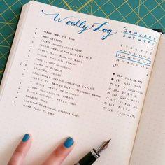 Tinyrayofsunshine Weekly Log. Top 8 Bullet Journal Ideas for 2016 – Bullet Journal®