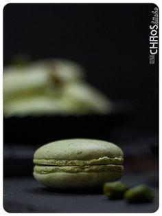 Pistazien Macaron Macarons, Cookies, Desserts, Food, Pistachios, Crack Crackers, Tailgate Desserts, Deserts, Biscuits