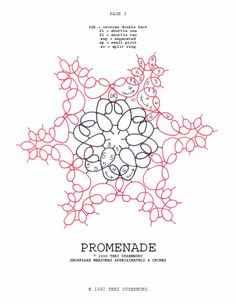 TATtle TALES Tatting Patterns: Tatting Snowflake Pattern Promenade