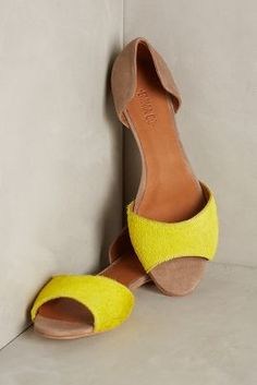 Emma Go Tanni Flats Yellow #anthrofave
