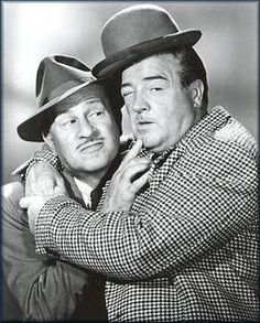 Abbot & Costello. I loved watching their films as a kid on TV - didn't realise they were BIG radio stars in the 1940's.