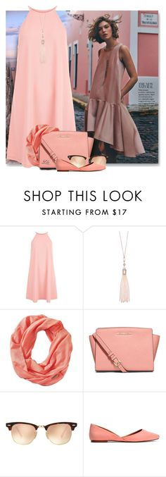 """""""Best Dressed"""" by breathing-style ❤ liked on Polyvore featuring New Look, Oasis, Smartwool, MICHAEL Michael Kors and Ray-Ban"""