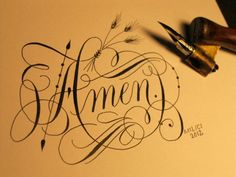 Kathy Milici Great calligrapher and teacher! loved her classes - check her out!