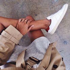 White sneakers • Style School ByDanie