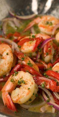 Marinated Shrimp Recipe : New Orleans Recipes : Mr. B's Bistro