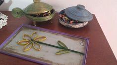 Tray, Home Decor, Paper Envelopes, Decoration Home, Room Decor, Trays, Home Interior Design, Board, Home Decoration