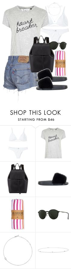 """""""Sin título #4199"""" by hellomissapple on Polyvore featuring moda, Minimale Animale, Tee and Cake, Mansur Gavriel, Givenchy, Las Bayadas, Ray-Ban y Jack Vartanian"""