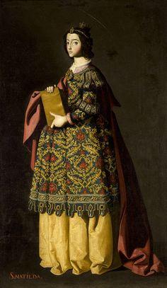 Santa Matilda - Taller de Zurbarán